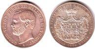 Doppeltaler 1856 A Waldeck-Pyrmont Georg Victor Fürst zu Waldeck und Py... 1789,00 EUR kostenloser Versand