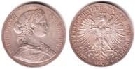 Doppeltaler 1862 Frankfurt Vereins-Doppeltaler - Francofurtia vz+  298,00 EUR  zzgl. 6,95 EUR Versand