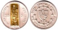 20 Diners 1995 Andorra Gold-und Silbermünze - Zollunion mit der EU st  77,90 EUR  zzgl. 6,95 EUR Versand