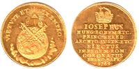 1 1/4 Dukaten 1764 Frankfurt Stadt Krönung von Joseph II. zum römisch, ... 2498,00 EUR
