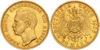 20 Mark 1906 A Hessen Ernst Ludwig vz  649,00 EUR