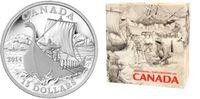 15 Dollar 2014 Kanada Die Wikinger PP mit Box + Echtheitszertifikat  59,00 EUR  zzgl. 6,95 EUR Versand