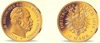 10 Mark Goldmedaille 1878 B/2006 Preussen Kaier Wilhelm I. - Replika PP  98,90 EUR98,00 EUR  zzgl. 6,95 EUR Versand