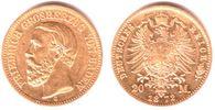 20 Mark 1872 G Baden Friedrich Wilhelm ss/vz   439,00 EUR  zzgl. 6,95 EUR Versand