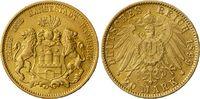 20 Mark 1899 J Hamburg Hamburger Stadtwappen ss+  319,00 EUR  zzgl. 6,95 EUR Versand