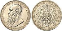 3 Mark 1915 Sachsen-Meinigen Georg II. - Auf den Tod vz/ber.  229,90 EUR