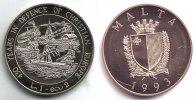Malta 1 LM Segelschiff - Schiffe - 430 Jahre Christianisierung