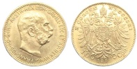 10 Kronen 1911 Österreich Kaiser Franz Joseph vz/st  159,90 EUR  zzgl. 6,95 EUR Versand