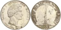 Geschichtstaler 1833 Bayern Denkmal der Dreyssigtausend vz+  498,00 EUR
