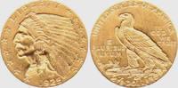 2 1/2 Dollar 1925 D USA - Vereinigte Staaten Indian Head vz  359,00 EUR  zzgl. 6,95 EUR Versand