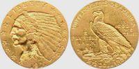 2 1/2 Dollar 1911 USA - Vereinigte Staaten Indian Head vz  349,00 EUR  zzgl. 6,95 EUR Versand