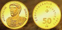 50 Franken 2015 Schweiz J. Aventicum - Büste des Marc Aurel PP mit Box ... 698,00 EUR  zzgl. 6,95 EUR Versand