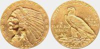 2 1/2 Dollar 1908-1929 USA - Vereinigte Staaten Indian Head vz  339,00 EUR  zzgl. 6,95 EUR Versand
