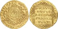 Dukat 1639 Frankfurt Stadt Stadtdukat f.vz  798,00 EUR  zzgl. 6,95 EUR Versand
