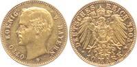 10 Mark 1905 D Bayern Otto (1886-1913) vz  298,00 EUR