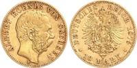 10 Mark 1878 E Sachsne Albert (1873-1902) ss/Rf.  249,00 EUR  zzgl. 6,95 EUR Versand