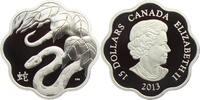 15 Dollar 2013 Kanada Lunar-Serie - Jahr der Schlange PP mit Box + Zert... 79,90 EUR  zzgl. 6,95 EUR Versand