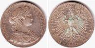 Doppeltaler 1862 Frankfurt Vereins-Doppeltaler - Francofurtia vz  279,00 EUR  zzgl. 6,95 EUR Versand