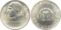 3 Reichsmark 1929 J Weimarer Republik Gotthold Ephraim Lessing f.st  69,90 EUR