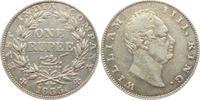 1 Rupie 1835 Indien William IV. (1830 - 1837) ss-vz  98,00 EUR  zzgl. 6,95 EUR Versand