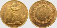 100 Francs 1906 A Frankreich Stehender Genius ss/vz  1798,00 EUR kostenloser Versand