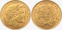 10 Francs 1899 A Frankreich Cereskopf vz/st  279,00 EUR  zzgl. 6,95 EUR Versand