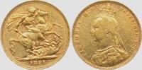 Sovereign 1891 Großbritannien Queen Victoria (1831-1901) ss+  379,00 EUR  zzgl. 6,95 EUR Versand