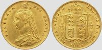 1/2 Sovereign 1887 Großbritannien Queen Victoria (1831-1901) vz  279,00 EUR  zzgl. 6,95 EUR Versand