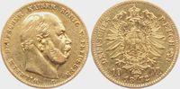 10 Mark 1872 C Preussen Kaiser Wilhelm I. ss  249,00 EUR  zzgl. 6,95 EUR Versand