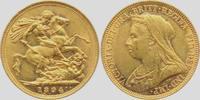1 Sovereign 1894 M Australien Queen Victoria mit Witwenschleier und Dia... 398,00 EUR  zzgl. 6,95 EUR Versand