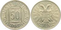 50 Groschen 1934 Österreich 1. Republik (1919 - 1938) f.prägefrisch  64,90 EUR