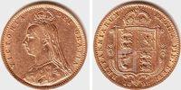 1/2 Sovereign 1892 Grossbritannien Queen Victoria (1831-1901) ss  198,00 EUR  zzgl. 6,95 EUR Versand