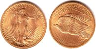 20 Dollar 1909 USA Double Eagle - ohne Motto (1907-1908) vz/Kr.  1498,00 EUR kostenloser Versand