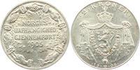 2 Kronen 1906 Norwegen Haakon VII. (1905 - 1957) f.st  149,00 EUR  zzgl. 6,95 EUR Versand