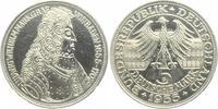 5 Mark 1955 G Deutschland 5 Mark Markgraf von Baden (Türkenloui) bfr./R... 197,00 EUR