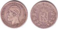 50 Öre 1885 Norwegen Oscar II. (1872-1905) ss  249,00 EUR  zzgl. 6,95 EUR Versand