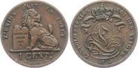 1 Centime 1860 Belgien Leopold I. (1831 - 1865) vz  59,00 EUR