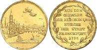Dukat 1786 Frankfurt Stadt Kontrubutionsdukat für Französische Revoluti... 2998,00 EUR kostenloser Versand