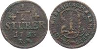 1/2 Stüber 1783 Jülich - Berg Karl IV. Theodor (1742 - 1799) ss  9,00 EUR  zzgl. 2,95 EUR Versand