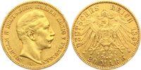 20 Mark 1897 A Preussen Kaiser Wilhelm II. ss/Rf.  279,00 EUR  zzgl. 6,95 EUR Versand