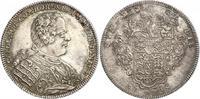 Taler 1738 Hohenlohe-Kirchberg Karl August (1727-1767) vz/st  2985,00 EUR kostenloser Versand