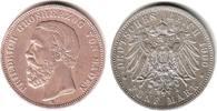 5 Mark 1900 G Baden Friedrich I. (1856-1907) ss+  74,00 EUR  zzgl. 6,95 EUR Versand