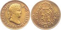 1/2 Escudo 1817 GJ Spanien Fernando VII. (1808-1833) ss  229,00 EUR