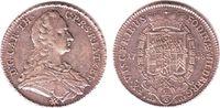 2/3 Ausbeutetaler 1748 FO Jülich-Berg Karl Theodor (1742-1799) vz-  1398,00 EUR kostenloser Versand