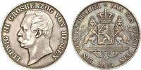 Hessen-Darmstadt Vereinstaler 1863 ss Grossherzog Ludwig III.(1848-1877) 149,00 EUR  zzgl. 6,95 EUR Versand
