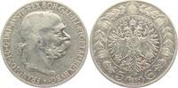 5 Kronen 1907 Österreich Franz Joseph I. (1848 - 1916) ss  24,00 EUR