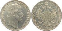 1 Gulden 1860 A Österreich/Ungarn Kaiser Franz Joseph I. vz  18,00 EUR