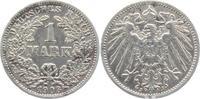 1 Mark 1908 J Kaiserreich 1 Mark - großer Adler f.ss  4,95 EUR