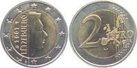 2 Euro 2002 Luxemburg Großherzog Henri unc.  5,95 EUR
