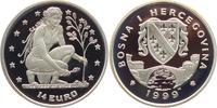 14 Euro 1999 Bosnien Herzegowina Frau mit Setzling PP  19,00 EUR